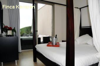 Gran canaria süd salobre golf villa paris schlafzimmer 2