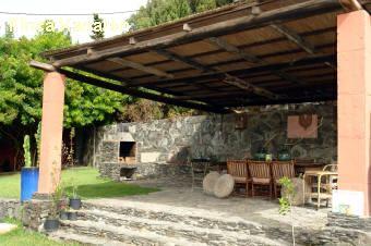 uberdachter grillplatz im garten – rekem, Garten und Bauen