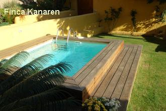 Teneriffa Finca am Meer - Pool
